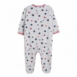 Pijama tercio pelo estampado
