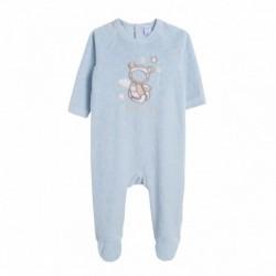 Pijama terciopelo angel osito
