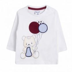 Camiseta osito con globos