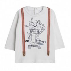 Camiseta con titantes oso vestido