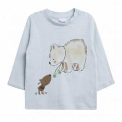Camiseta amigos oso y perrito