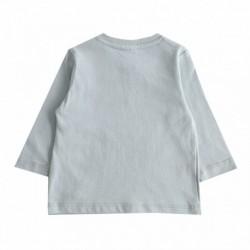 Camiseta winter buho ojos grandes blancos algodón 100% - Newness - BBI67068