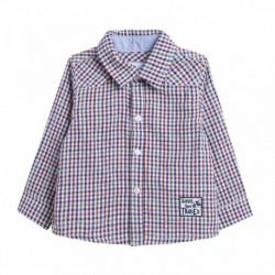 Camisa de cuadros finos