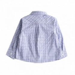 Camisa cuadros bosillo nb algodón 100%