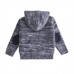 Chaqueta punto cotton thread+little lamb con capucha