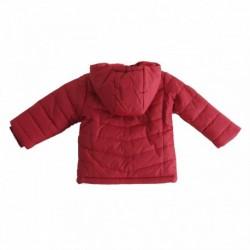 Abrigo con capucha con cremallera celeste - Newness - BBI97029