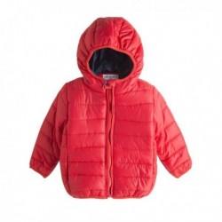 Abrigo microfibra rojo