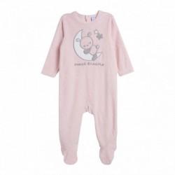 Pijama terciopelo osito dormido