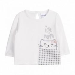 Camiseta gatito en bolsillo