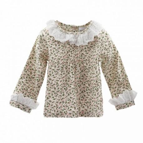 TMBB-BGI05521 Newness ropa infantiil al por mayor Blusa de