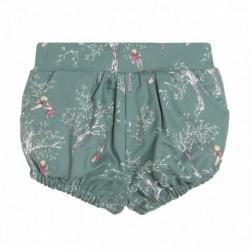 Pantalon corto estampado niñas jugando