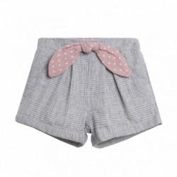 Pantalon corto lazo medio