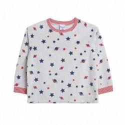 Pijama terciopelo estampado estrellas