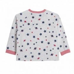 Pijama terciopelo estampado estrellas - Newness - JBI78337
