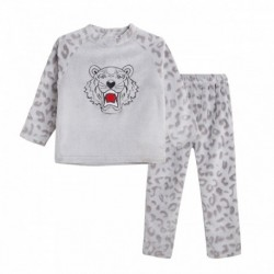 Pijama terciopelo tigre - Newness - JBI78298