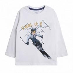 Camiseta niño esquí