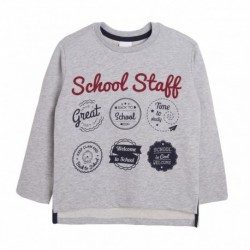Camiseta felpa school staff