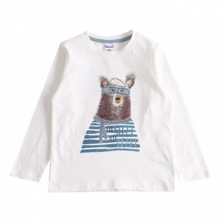 TMBB-JBI67235 Newness mayoristas ropa de bebe Camiseta oso con