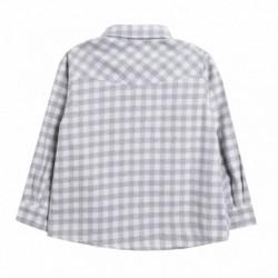 Camisa cuadros franela
