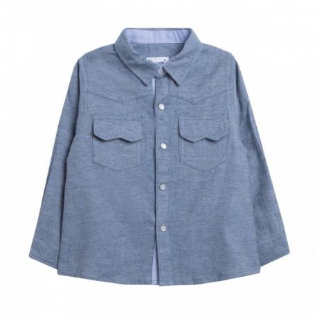 TMBB-JBI98225 Newness mayoristas ropa de bebe Camisa oxford -