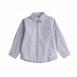 Camisa oxford con botones de mandera algodón 100%