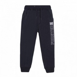 Pantalon deportivo letras laderales forrado gordo