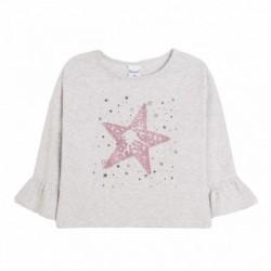 Camiseta estella rosa mangas campanas