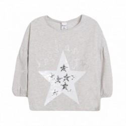 Camiseta manga globo estrella de lentejueras magicas