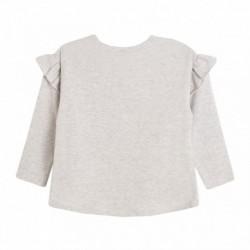 Camiseta manga volantes espalda nila con gorro