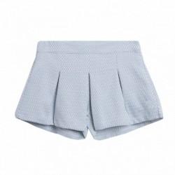Falda pantalon corto tablas