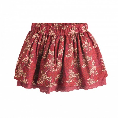 TMBB-JGI06755 venta al por mayor de ropa infantil Falda roja