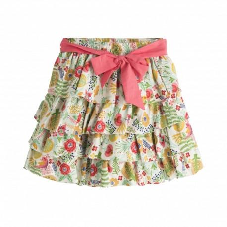 Falda loneta con forro - Newness - JGI06836 mayorista de ropa