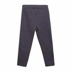 Pantalon bandas purpurina