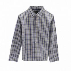 Camisa de cuadros azules - Newness - KBI05413