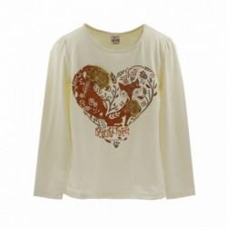 Camiseta corazón con zorro - Newness - KGI05932