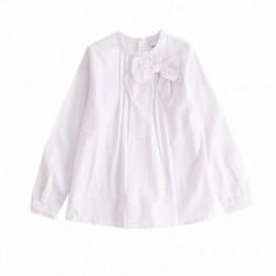 Camisa estampado lunares algodón 100%