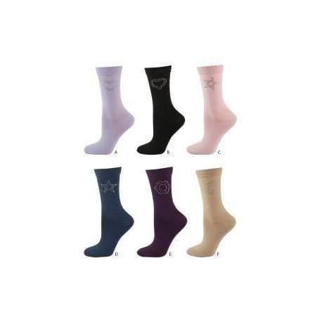 Calcetines tobilleros estampados