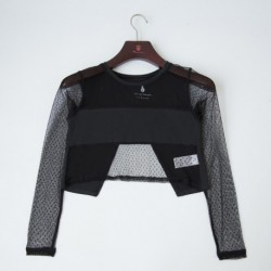 Top con mesh - Newness - KGI-18WP-G6101