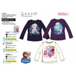 Camiseta ml 100% algodón FROZEN Niña