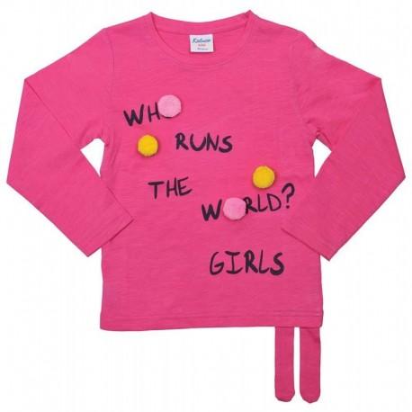 TMBB-18263306 mayoristas de moda infantil CAMISETA ML GIRLS -