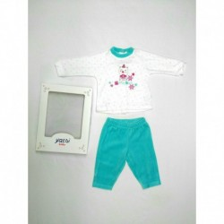 "CONJUNTO 2 PZAS TUNDOSADO ""LITTLE BEAR"""