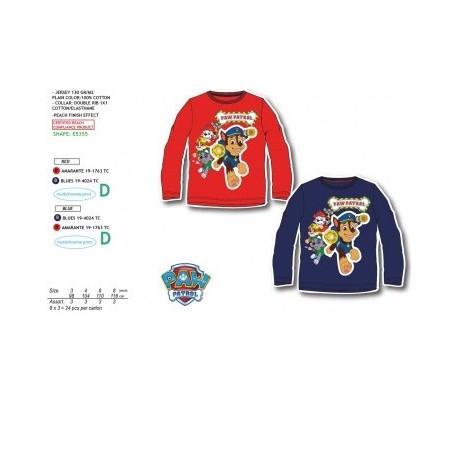 TMBB-PH6760-1 venta de ropa infantil al por mayor Paw Patrol