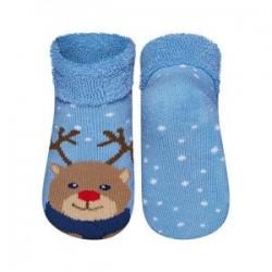 Calcetines bebé animales con suela abs