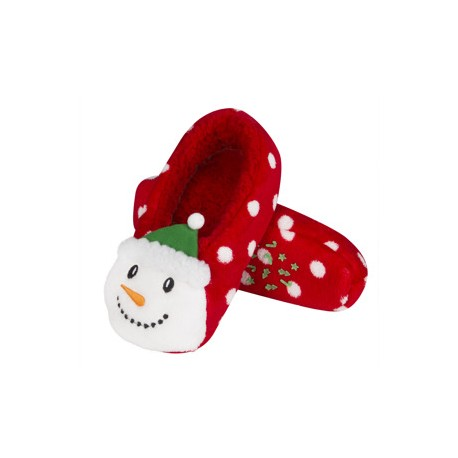 Zapatillas descanso Papá Noel 3D