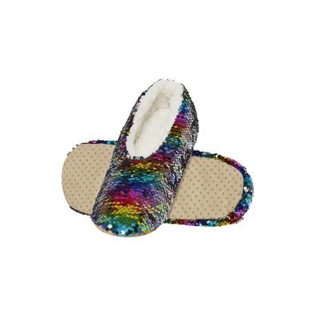 Zapatillas descanso Lentejuelas