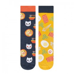 Calcetines estampado coffe