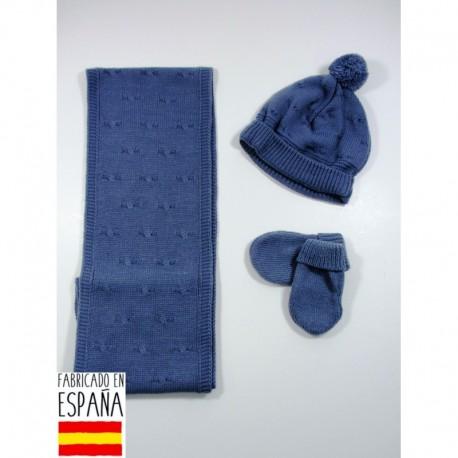 PBI-6184 fabricantes de ropa de bebé mantitas Conjunto bufanda
