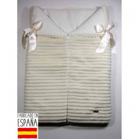 PBI-8173 fabricantes de ropa de bebé mantitas Saco pelo rayado