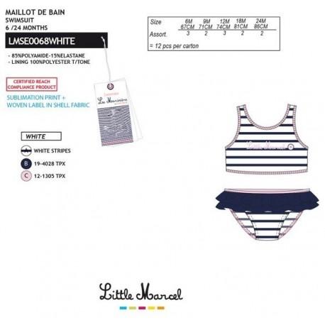 NFV-LMSE0068WHITE Comprar ropa al por mayor Bikini little