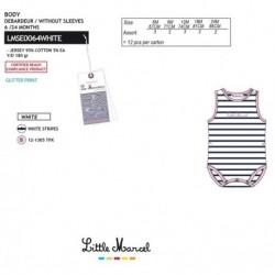 Body little marcel - Little Marcel - NFV-LMSE0064WHITE